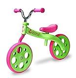 Zycomotion 204-920 Zycom Z Bike Laufrad aus Aluminium ab 3 Jahren, Grün/Pink