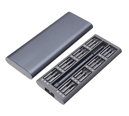RENCALO 48 In 1 Mehrzweck-Präzisions-Schraubendreher-Satz S2-Werkzeugreparaturwerkzeuge - Grau