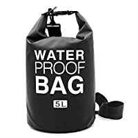I-Dragon 5L/10L/20L PVC Outdoor Waterproof Dry Bag Sack Storage Bag for Travelling Rafting Boating Kayaking Canoe Camping Snowboarding