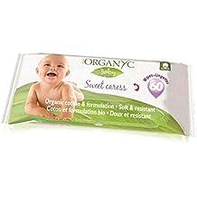 Toallitas bebé bio Organyc, 60ud