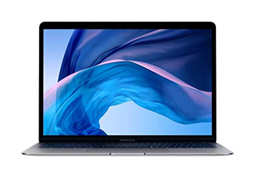 Apple MacBook Air - Ordenador portátil de 13' (Intel Core i5 de doble núcleo a 1,6 GHz, 128 GB) gris espacial
