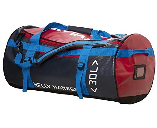 Helly Hansen Duffel Bag – Navy/Red 50 L