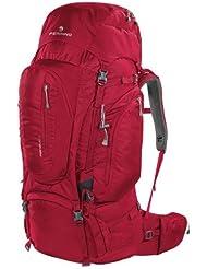 2b21d48166 Zaino Trekking TRANSALP 60 Litri Colore Rosso Marchio FERRINO - Dorso  Regolabile in Altezza - Ideale