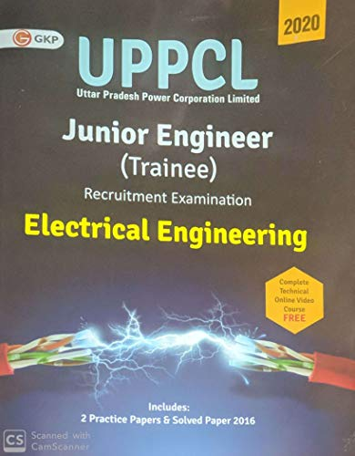 UPPCL (Uttar Pradesh Power Corporation Ltd.) 2020 : Junior Engineer (Trainee)  - Electrical Engineering