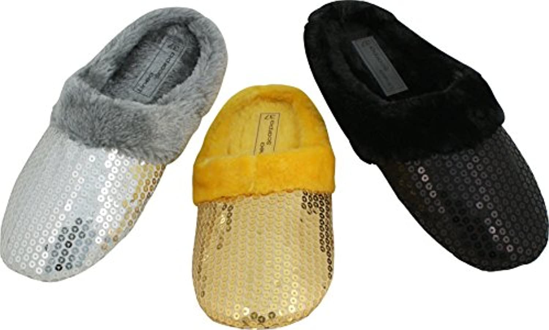 Linea Scarpa FALUN multi Artículos Restantes Venta Deslizador De Señoras cálido Zapatillas con piel falsa