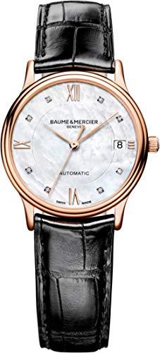 Baume und Mercier Classima Führungskräfte Damen Automatik Uhr moa10077