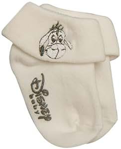 Panda Disney Eeyore 32122/EEY Socks 2 Pairs for 6 Months Ecru / Grey