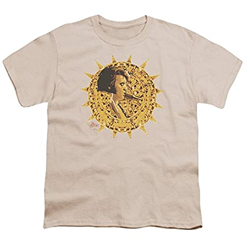 Elvis - Sun Dial Jugend T-Shirt in den Farben Creme, X-Large (18-20), Cream
