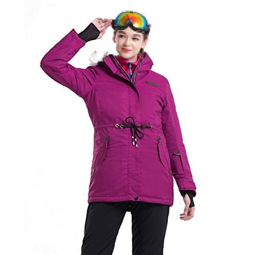 Dunyue Chaqueta esquí Snowboard chaqueta impermeable