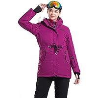ab2f92f75fe FELICIKK Women s Ski Jacket Snowboard Waterproof Windproof Snow Jacket  Below Zero Coat