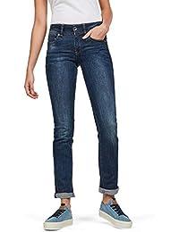 G-STAR RAW Damen Midge Saddle Mid-Waist Straight Jeans