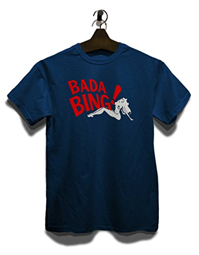 Bada Bing T-Shirt Navy Blau