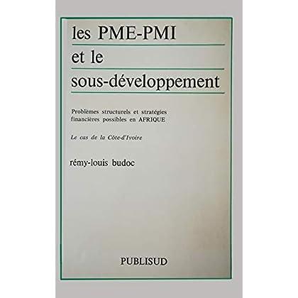 Les PME-PMI et le sous-développement: Problèmes structurels et stratégies financières possibles en Afrique : le cas de la Côte-d'Ivoire