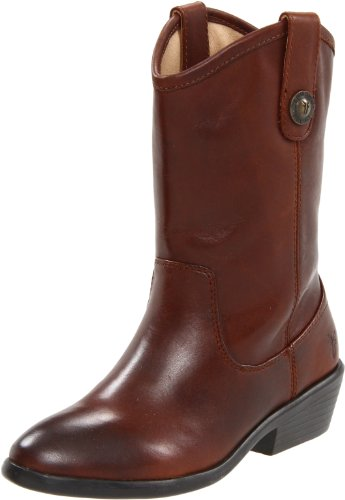 FRYE Melissa Button Boot (Little Kid/Big Kid),Dark Brown,2.5 M US Little - Frye Melissa Button Boot