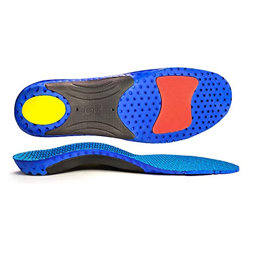 Full Length Orthotic Inserts with Arch Support Sport Shoe Insoles Comfort Arch Support Insoles for Flat Feet, Orthopedic Functional insoles for Women&Men