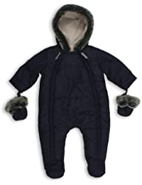 The Essential One - Baby Schneeanzug - Overall Blau EO135