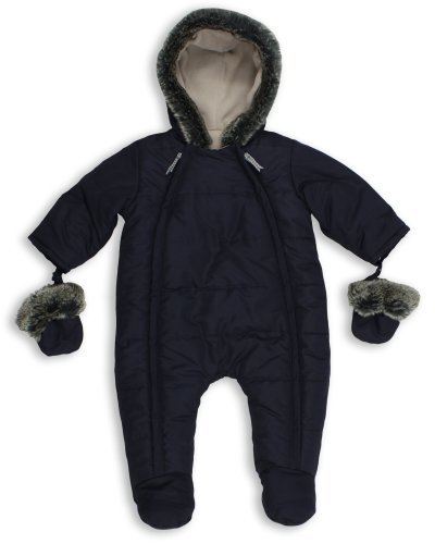 The Essential One - Baby Schneeanzug - Overall Blau - 74/80 cm EO135