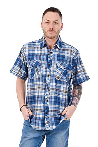 Men's Checked Shirt for Geek Costume