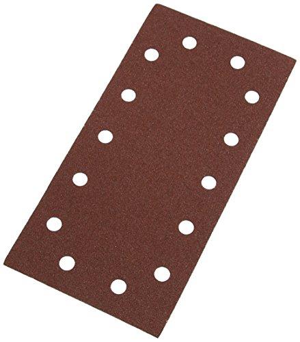 Preisvergleich Produktbild Silverline 457004 Klettschleifblätter, gelocht, 115 x 230 mm, 10er-Pckg. 80er-Körnung