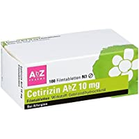 Preisvergleich für Cetirizin Abz 10 mg Filmtabletten 100 stk
