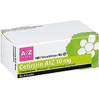 Cetirizin Abz 10 mg Filmtabletten 100 stk preisvergleich bei billige-tabletten.eu