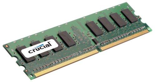 Pc2-5300 240-pin Ecc Registered (Crucial 2GB DDR2 PC2-5300 SC Kit 2GB DDR2 667MHz ECC Speichermodul - Speichermodule (DDR2, 240-pin DIMM, 1 x 2 GB))