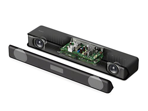 41QO49 h8PL - Sony HT-MT300 Compact Soundbar with Interior Matching Design and Bluetooth, Black