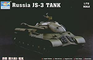 Trumpeter 7227 - Maqueta de tanque ruso JS-3 importado de Alemania