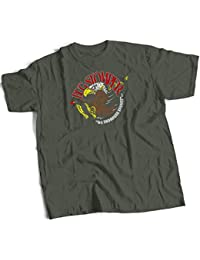 bybulldog Bug Stomper We Endanger Species USS Sulaco Aliens Premium T-Shirt Choice Of 4 Colours In Sizes Small To 3X Large