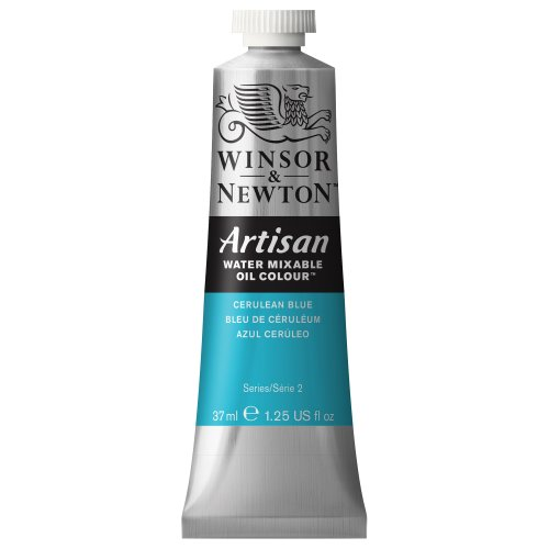 artisan-water-mixable-oil-paint-37ml-tube-cerulean-blue