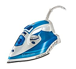 Russell Hobbs 23980 Ultra Steam Iron 2600W, 0.315 Litre, 2600 Watt
