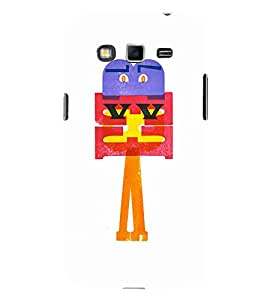 EPICCASE Shy cartoon Mobile Back Case Cover For Samsung Galaxy Grand Neo (Designer Case)