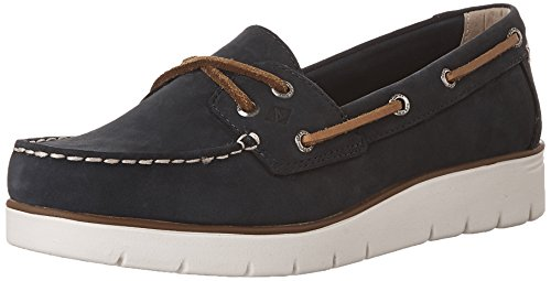 Sperry Damen Azur Cora NB Leather Bootsschuhe, Blau (Navy), 40 EU
