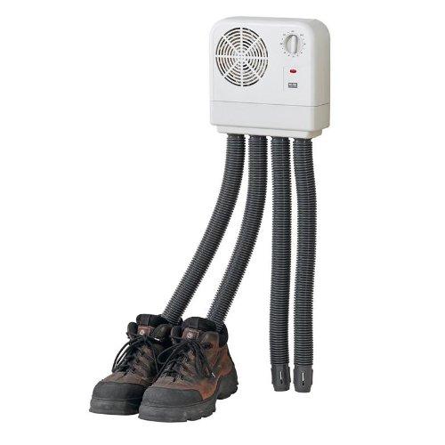 Melissa 16540010 Schuhtrockner elektrisch, Schuhwärmer für Stiefel, Gummistiefel und Handschuhe, Trockner für Wanderschuhe oder auch Skischuhe, Heizung mit Gebläse und Zeitschaltuhr für 2 Paar Schuhe/Handschuhe