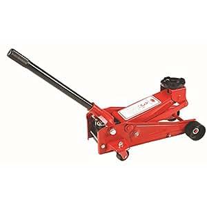 MVPower®Cric Spécial Hydraulique à Roulettes Charge 3 Tonnes Levage Rouleur