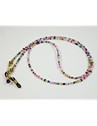 Gafas Banda/collar de perlas de cristal