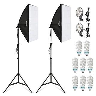 Amzdeal 8x135W Continuous Lighting Kit 20