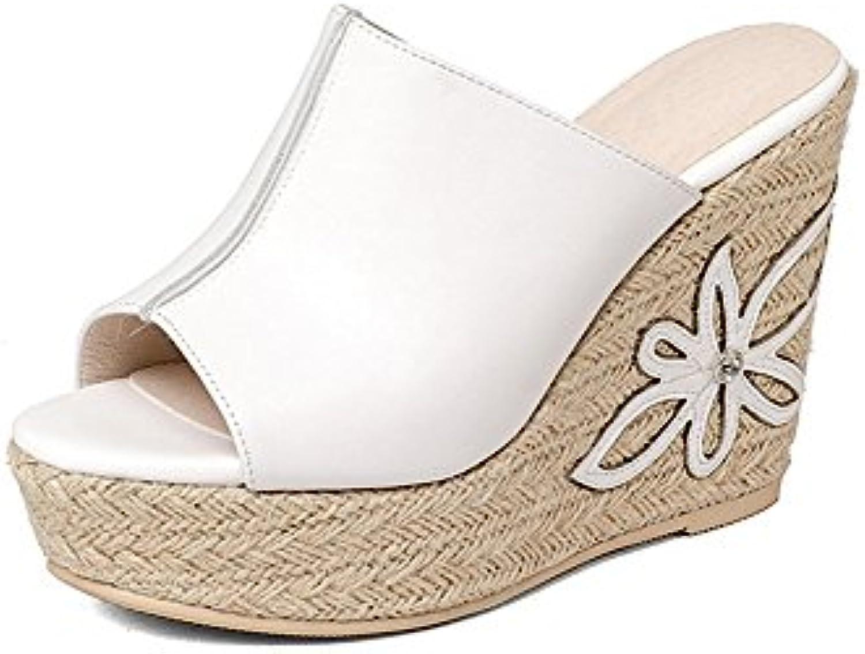Weiwei Ladies Tacco Alto Cool Pantofole,Stile di Fondo Spesso Pantofole Morbide E Confortevole | Forma elegante  | Uomo/Donna Scarpa