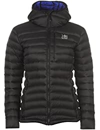 Karrimor Womens Alpiniste Down Jacket Coat Top Chin Guard Water Resistant