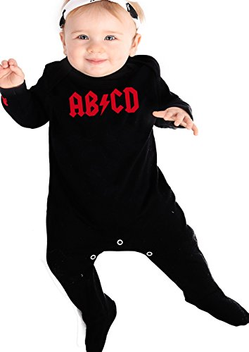 Rock n Roll Baby AB/CD para niño/Cool Rock Star Baby traje de bebé M