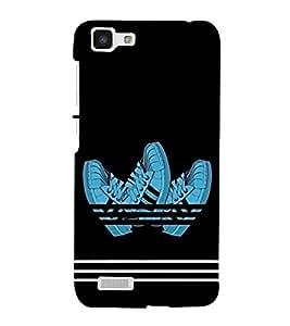 Shoes Hard Polycarbonate Designer Back Case Cover for Vivo Y27 :: VivoY27L