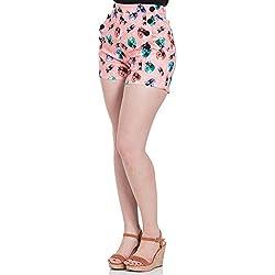 Voodoo Vixen - Pantalón Corto - para Mujer Rosa S