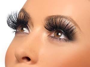 Smiffy's 60's Style Long Eyelashes - Black