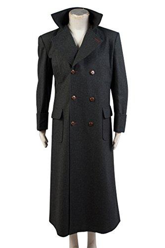 Sherlock Holmes Kap Mantel Kostüm maßgeschneiderte Wolle
