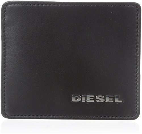 Diesel Uomo Nero & Giallo Fresh & Bright Johnas I Cuoio Portafoglio