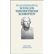 Theoretische Schriften (Deutscher Klassiker Verlag im Taschenbuch)