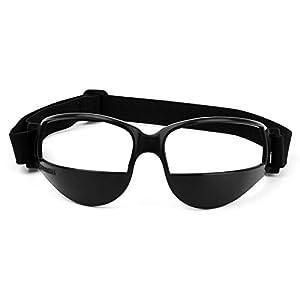 Tookie Sport occhiali, durevole occhiali sportivi per basket principiante allenamento sport occhio di protezione ciclismo sci Golf occhiali da vista unisex occhialini, Nero