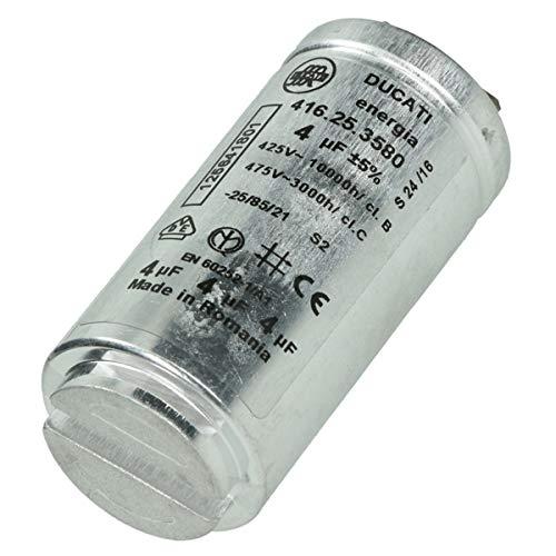 Condensatore 4MF – Asciugatrice – ELECTROLUX, AEG, FAURE, ARTHUR MARTIN ELECTROLUX, ZANUSSI
