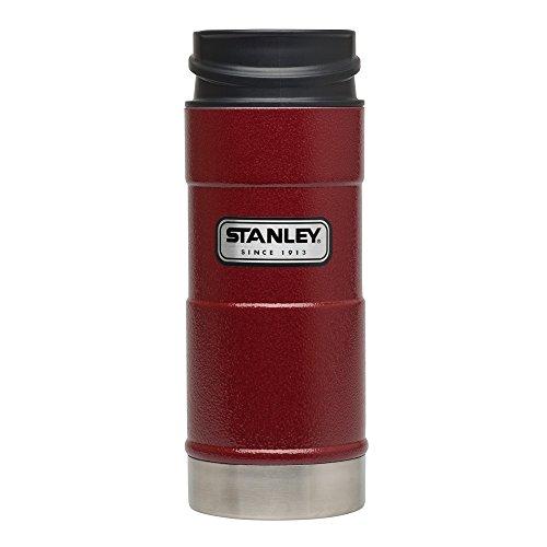 Stanley CLASSIC VACUUM MUG, 18/8 Edelststahl, rostfrei, Lackierung Crimson Rot, Vakuumisolation, BPA-frei
