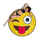 Best BigMouth Inc Pools - BigMouth Inc. – Giant Emoji Beach Blanket – Review